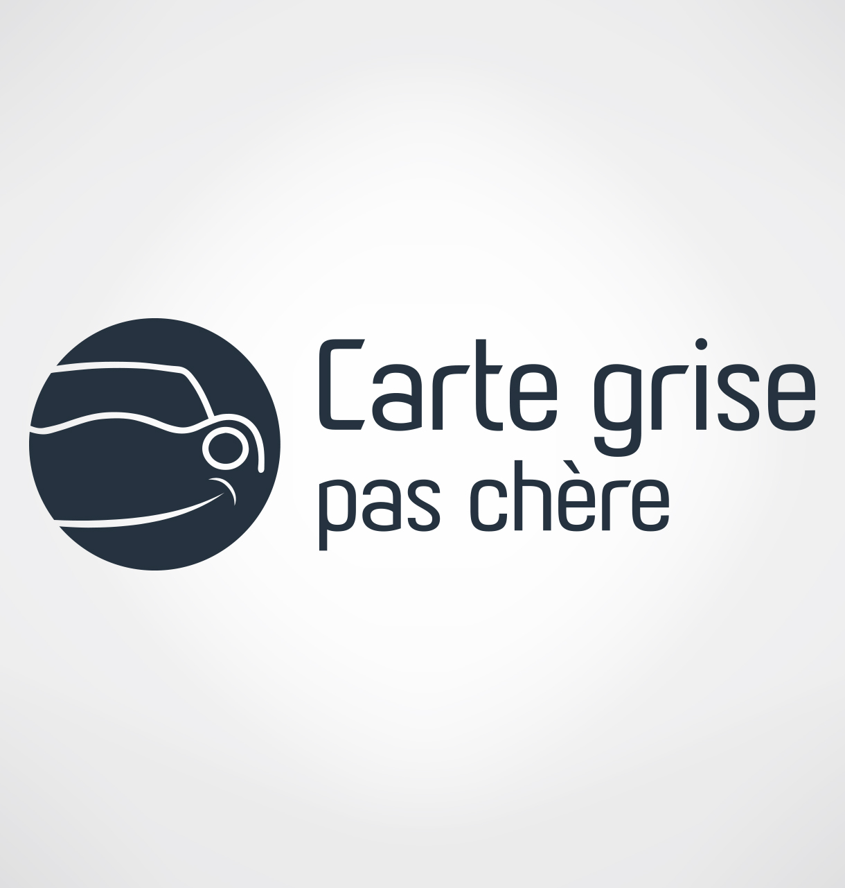 cr ation logotype carte grise pas cher r alisation logo. Black Bedroom Furniture Sets. Home Design Ideas