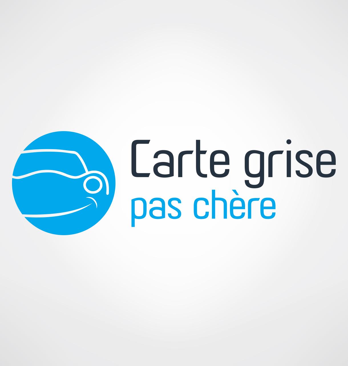 carte grise pas chere Création logotype Carte grise pas cher   Réalisation logo Le Mans