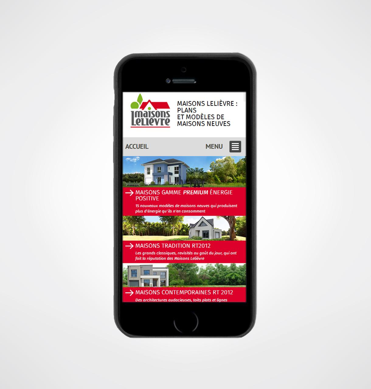 Cr ation site internet de constructeur de maison maisons for Site constructeur