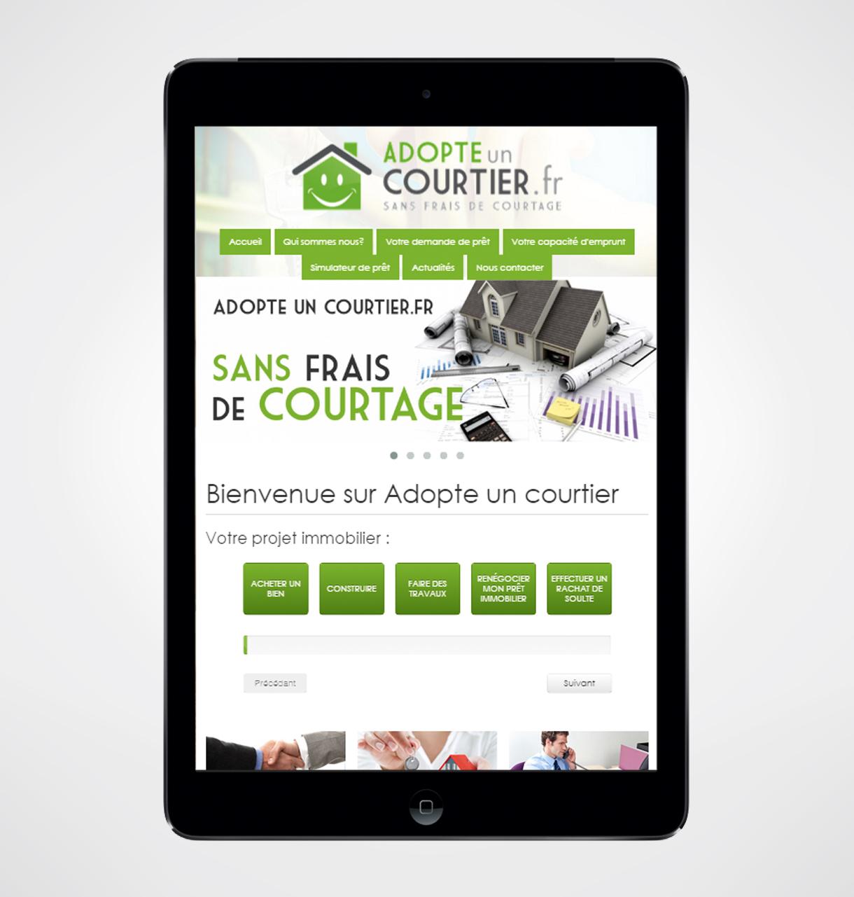courtier pret immobilier internet
