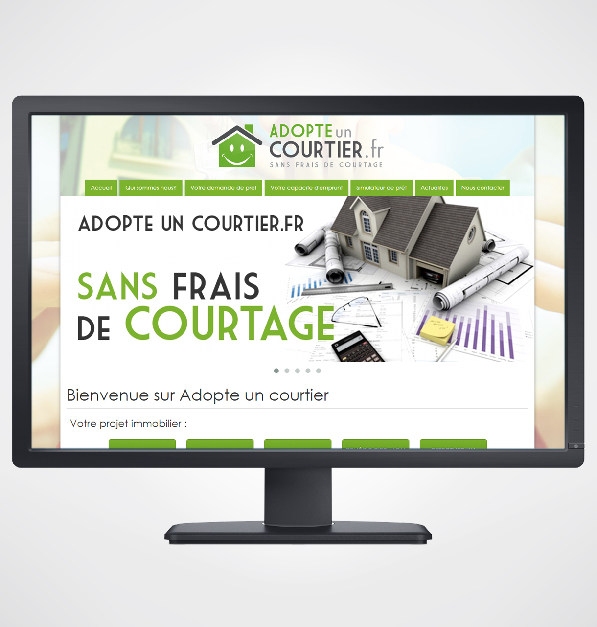 courtier pret immobilier internet