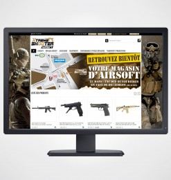 Création site internet Airsoft Online