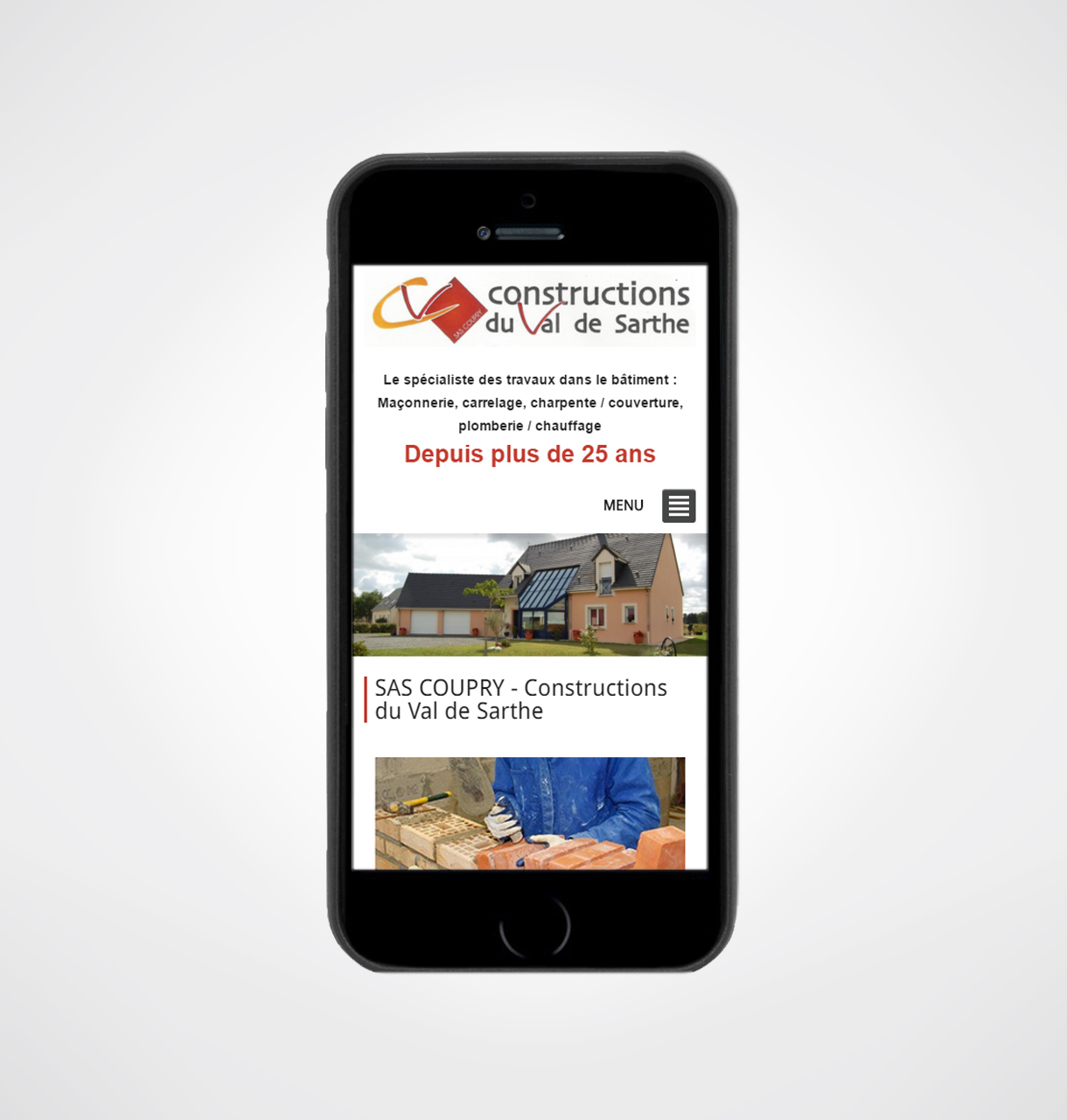 cr u00e9ation site internet entreprise construction maison sarthe